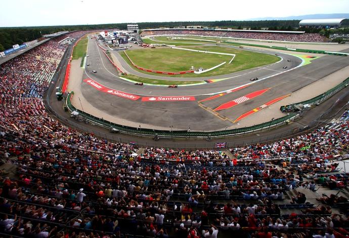 Circuito de Hockenheim, na Alemanha - 20/7/2014 (Foto: Getty Images)