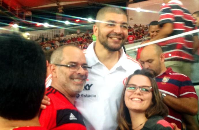 Flamengo x Atlético-MG - olivinha (Foto: Cintia Barlem)