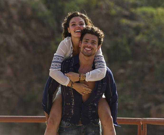 Cauã como Leandro, em 'Amores Roubados' (Foto: Globo/Estevam Avellar)