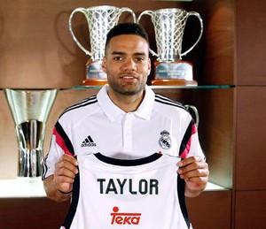 Jeffery Taylor, jogador do Real Madrid basquete (Foto: Divulgação / Real Madrid)