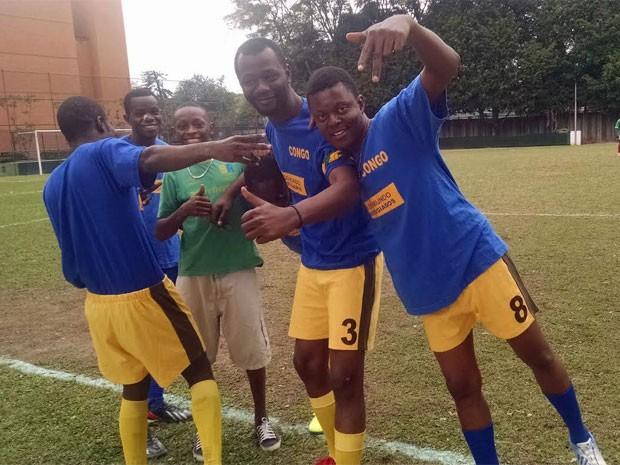 Time do Congo, vice-campeão (Foto: Flavia Mantovani/G1)