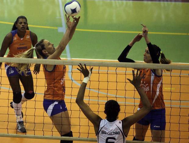 Osasco vôlei São Caetano Paulista (Foto: Divulgação)