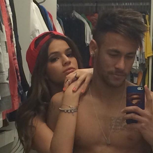Neymar e Bruna Marquezine (Foto: Instagram / Reprodução)