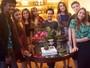 Gabriel Gava se reúne com demais participantes do 'The Voice Kids'  para homenagem às mães
