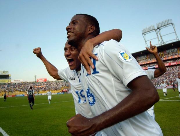 Juan Garcia gol Honduras (Foto: Reuters)