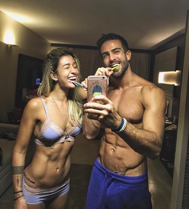 Gabriela Pugliesi e Erasmo Viana (Foto: Instagram / Reprodução)