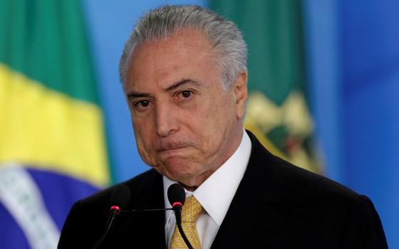 Michel Temer presidente interino (Foto:   Ueslei Marcelino / Reuters)