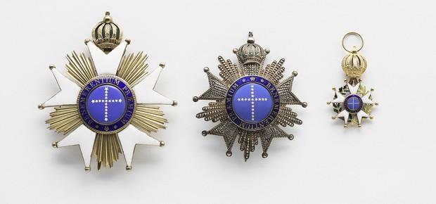 Condecorações Imperial Ordem do Cruzeiro (1822)  (Foto: Edouard Fraipont)