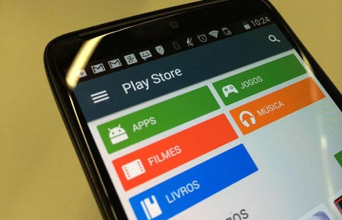 Google Play, loja de aplicativos e conteúdos digitais do Google.