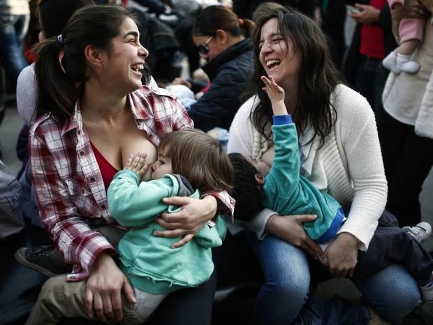 Mais de 9 mil pessoas já haviam confirmado presença em protestos deste sábado (Foto: AP Photo/Agustin Marcarian)