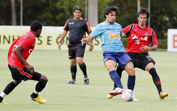 Jogo-treino Cruzeiro x Atlético-PR (Foto: Washington Alves / Vipcomm)