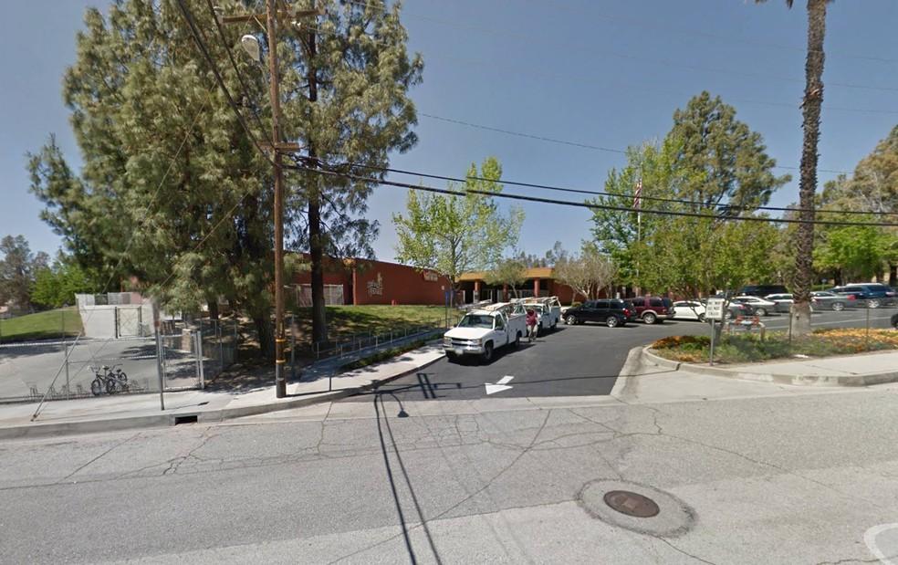 North Park School, em San Bernardino (Foto: Reprodução/Google Street View)