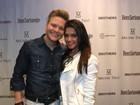 Fã número um: Thais Fersoza vai a show do marido, Michel Teló