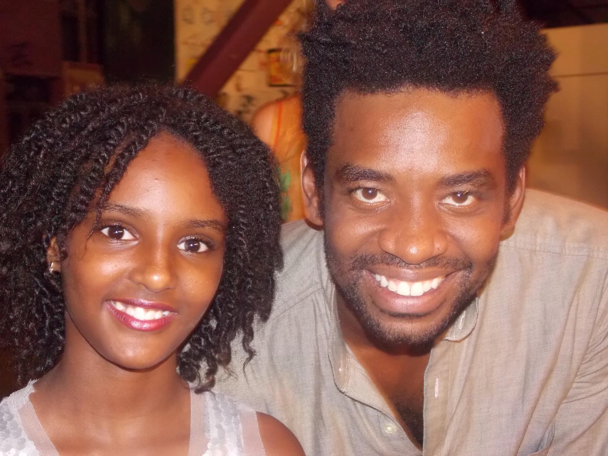 Débora Nascimento e o ator Fabrício Boliveira (Foto: Arquivo pessoal)