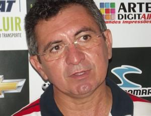 Daílson Machado, presidente do Assu (Foto: Jocaff Souza/GLOBOESPORTE.COM)
