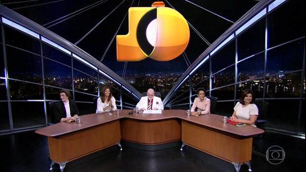 Meninas do Jô (Foto: TV Globo)