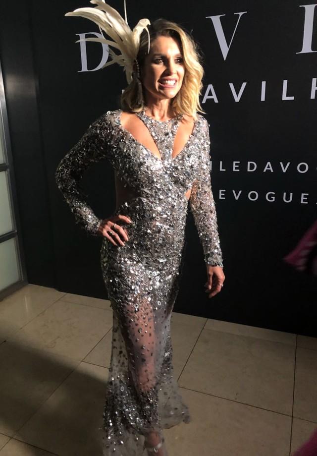 Flávia Alessandra (Foto: Vogue Brasil)
