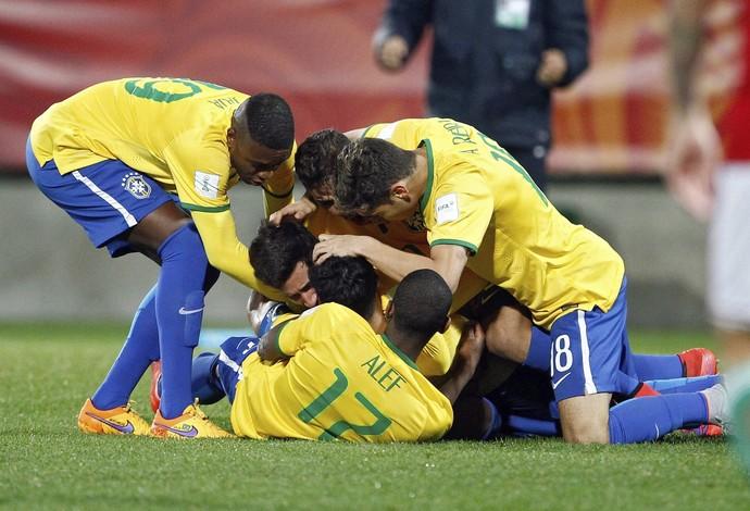 Brasil x Hungria Mundial sub-20 (Foto: Reuters)