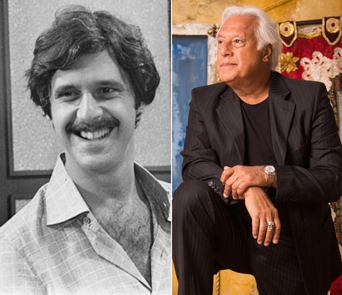 Em 1976, Antonio Fagundes interpretou o prefeito Lua Viana, em Saramandaia. Na segunda fase de 'Velho Chico', o ator vai ser Afrânio, que será vivido por Rodrigo Santoro na fase inicial da trama (Foto: CEDOC/TV Globo / Caiuá Franco/ Globo)