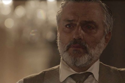 Werner Schünemann, o Conselheiro de 'Tempo de amar' (Foto: TV Globo)