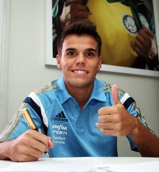 rodrigo palmeiras (Foto: Fabio Menotti/ag.Palmeiras/Divulgação)
