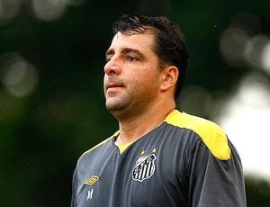 Marcelo Martelotte no treino do Santos  (Foto: Ricardo Saibun / Site Oficial do Santos)