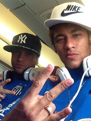 Neymar Felipe Anderson (Foto: Instagram / Divulgação)