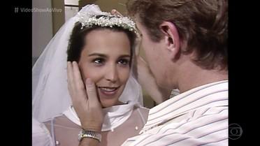 Ana Beatriz Nogueira relembra casamento frustrado na ficção