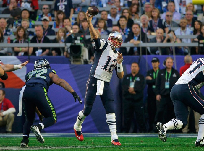 Tom Brady, Superbowl, Seattle Seahawks x New England Patriots, NFL (Foto: Reuters)