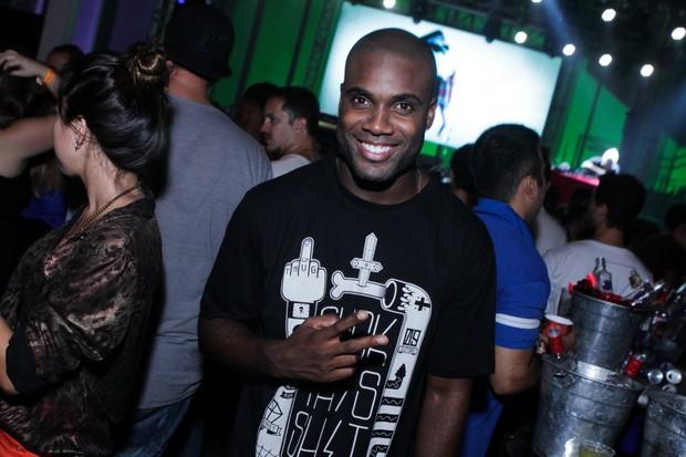 Rafael Zulu na festa M.I.S.S.A. (Foto: Raphael Mesquita/ Foto Rio News)