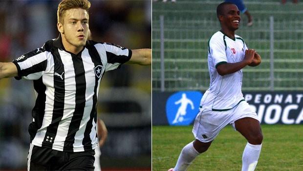 Botafogo é o líder do Grupo B, enquanto a Cabofriense caiu para o 6º lugar do Grupo A (Foto: Vítor Silva/SSPress/Botafogo/Andreia Maciel/Cabofriense)