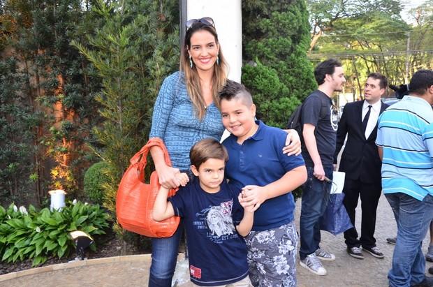 Família do Faustão (Foto:  Thiago Duran e Caio Duran/AgNews)