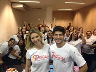 Fernanda Keulla e André Martinelli (Foto: Divulgação)
