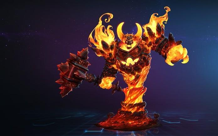 Ragnaros também está disponível em Heroes of the Storm (Foto: Divulgação/Blizzard)