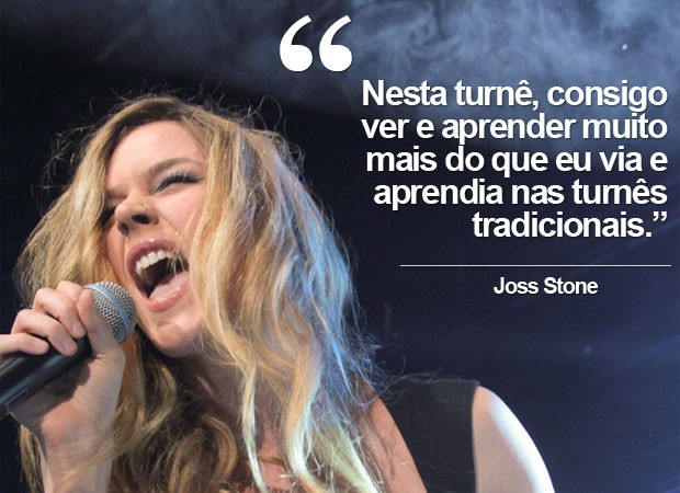 Joss Stone sobre a Total World Tour (Foto: Divulgação)