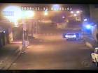 Câmeras flagram ação de criminosos explodindo agência em Mata Grande