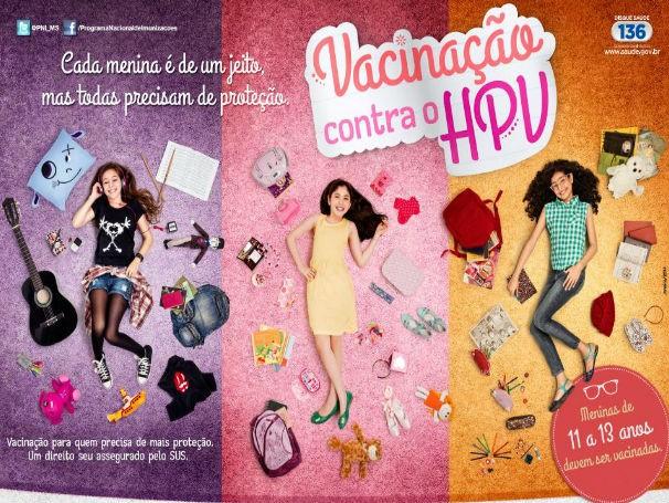 Campanha HPV (Foto: Divulgação)