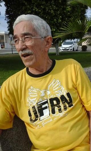 Ailson Lopes, pai de Alan, um mês antes de descobrir o câncer no pulmão (Foto: Arquivo pessoal)