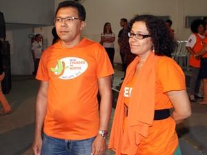 Evandro do Nascimento Silva e Norma Lúcia de Almeida  (Foto: Divulgação)