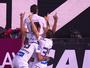 Jean Mota vibra com primeiro gol pelo Santos e diz que jogada foi treinada