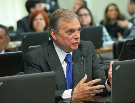 O senador Tasso Jereissati (PSDB-CE) (Foto: Geraldo Magela /Agência Senado)