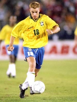 Jamelli, Seleção Brasileira 1996 (Foto: Getty Images)