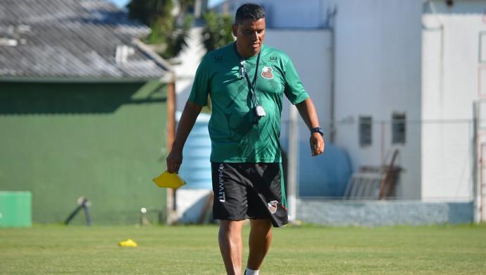 Gilson Maciel técnico São Paulo-RS Gauchão (Foto: João Figueiredo / Divulgação / SCSP)