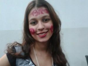 Bruna Larissa luta para seguir na faculdade de medicina (Foto: Arquivo Pessoal)