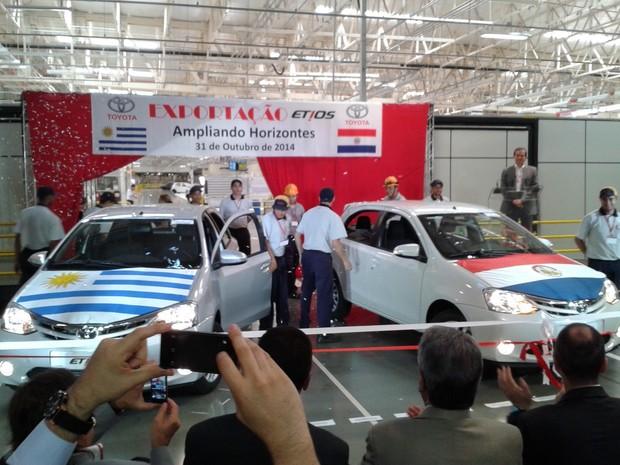 Os dois países passam a receber o Etios hatchback em sua versão XLS (Foto: Gualberto Vita / G1)