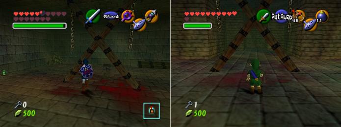Zelda tem muito sangue para o padrão Nintendo (Foto: Reprodução/Flying Omelette)