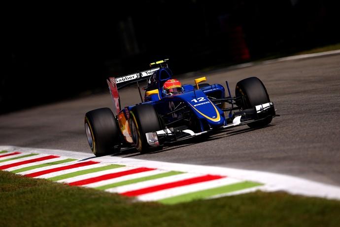 Felipe Nasr no treino classificatório para o GP da Itália (Foto: Getty Images)