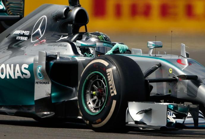 nico Rosberg Mercedes gp da Inglaterra (Foto: Agência Reuters)
