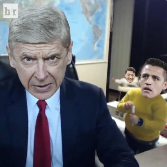 BLOG: Site faz paródia de Wenger com vídeo de crianças invadindo entrada ao vivo