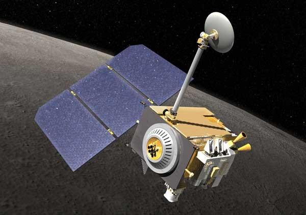 A nave Lunar Reconnaissance Orbiter foi lançada no espaço em 2009 (Foto: Nasa)